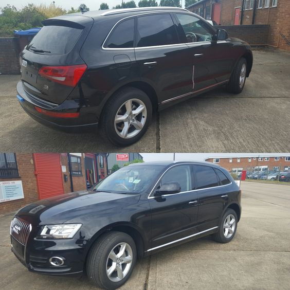 Brand spanking new Audi Q5 fitted with Auto-Vision Limo tint which offers the ultimate privacy and UV Protection