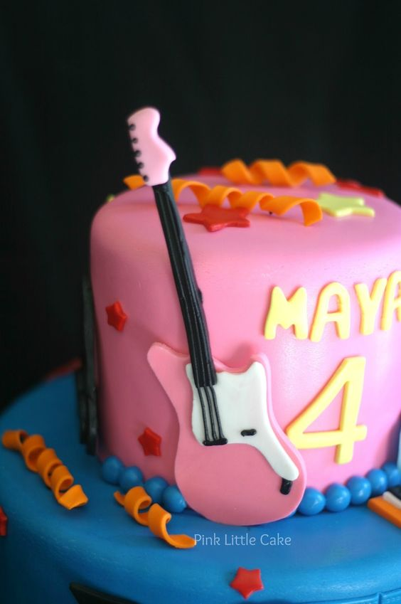 Pink Little Cake: Fresh Beat Band Cake