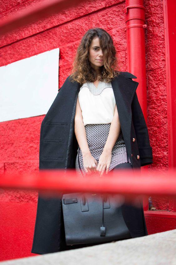 black and white look, polin et moi, fashion blog, work look, moda, estilo, cool lemonade