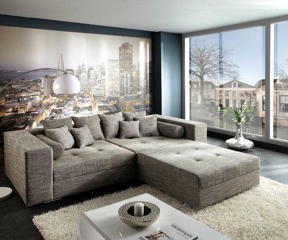 Big Sofa Marlen, sie ist die Schönste! Für Dich auf    www - big sofa oder wohnlandschaft