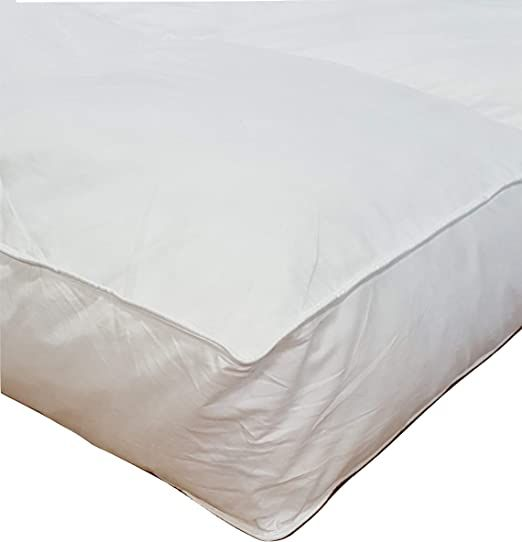 Millsave Premium Hotel Quality 5 Quot Queen 60 Quot X 80 Quot White Goose Down Amp Feather Mattress Topper Fea Feather Mattress Mattress Mattress Topper