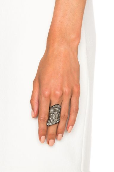 Pave Armor Ring