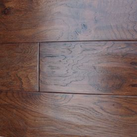 Style Selections 5 In W Prefinished Hickory Engineered