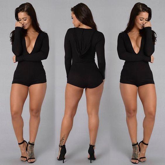 Fashion sexy jumpsuit 2016 new women summer black long sleeve v-neck slim hip shorts hat bandage jumpsuit elegant jumpsuit Diva's fashion store #clothes #fashion #dresses http://www.divasfashionstore.com/products/fashion-sexy-jumpsuit-2016-new-women-summer-black-long-sleeve-v-neck-slim-hip-shorts-hat-bandage-jumpsuit-elegant-jumpsuit/