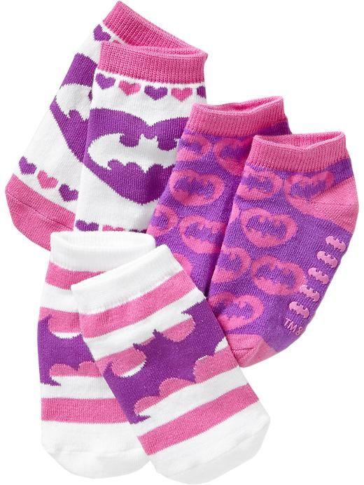 Paquet de 3paires de socquettes à personnages sous licence pour bébé Product Image