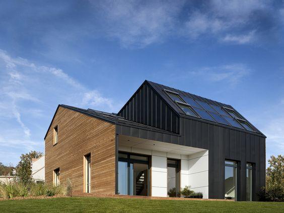 """Maison air et lumière"" an Active House by Nomade"