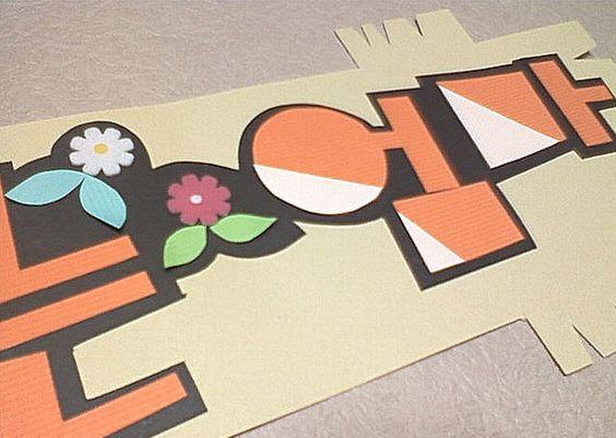 bulletin board decoration paper letters