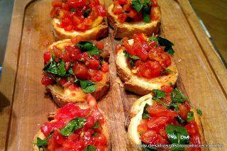 Desafios Gastronômicos: Bruschetta de Tomate e Manjericão (Jamie Oliver)