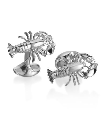 Deakin & Francis - The Eccentric Sterling Lobster Cufflinks... For the men of Joe's #JoesCrabShack
