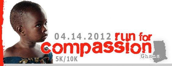 Run For Compassion on 4/14!