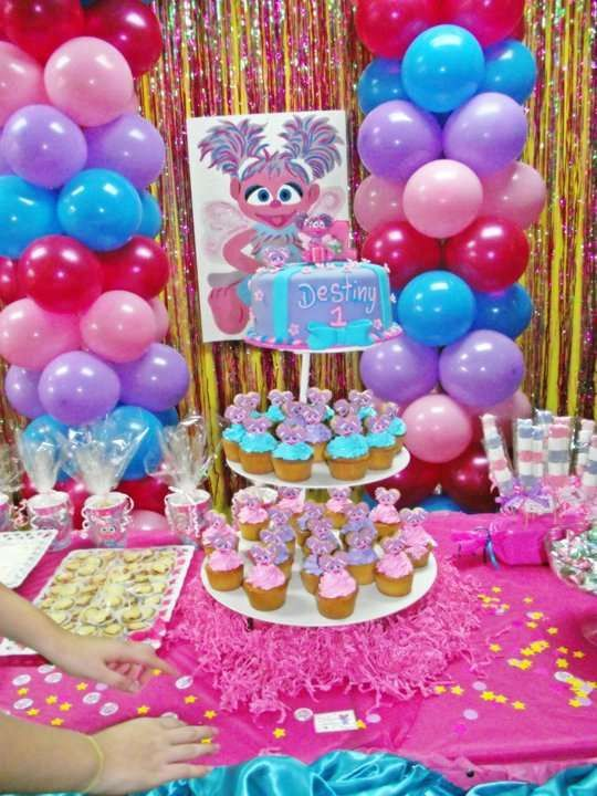 The Best Abby Cadaby Birthday Party Birthday Party Ideas Birthday Cake Card And Watermelon Birthday Parties 1st Birthday Party For Girls Abby Cadabby Party