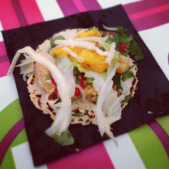 Nommmmm @luardos prawn taco sooo fricking good