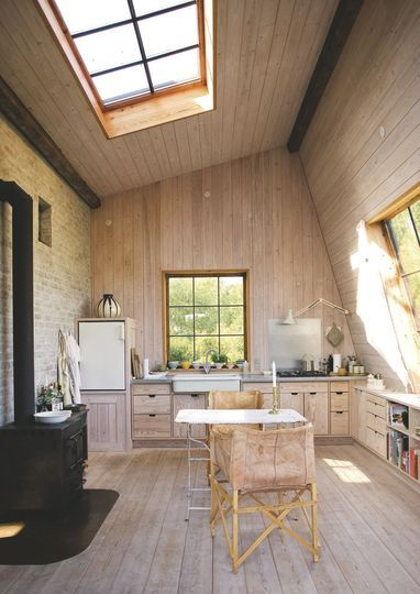 Petite maison en bois, cabane en bois - CôtéMaison.fr