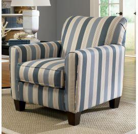 Addison Blue Accent Chair, Ashley, Addison