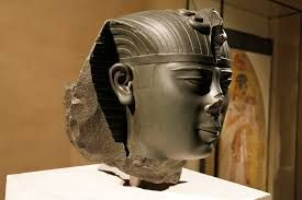 Pharao Ahmose II (greek name Amasis), 26th dynasty, the last great ruler of Egypt before the Persian conquest, Neues Museum Berlin
