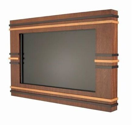 modern TV frames for wall mounted flat panel