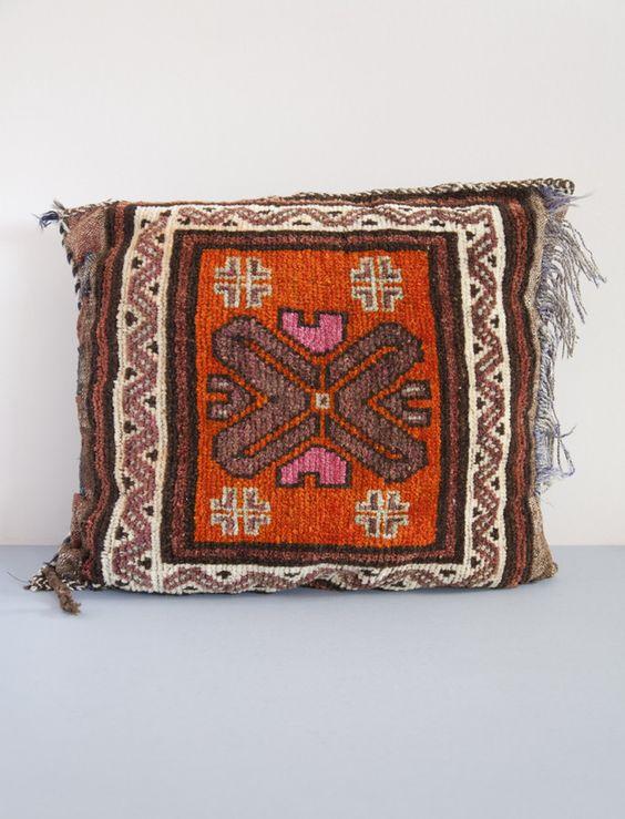Vintage Afghan Cushion