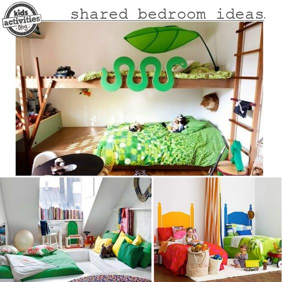 Boy girl shared bedroom ideas shared bedrooms for Shared boy and girl room ideas