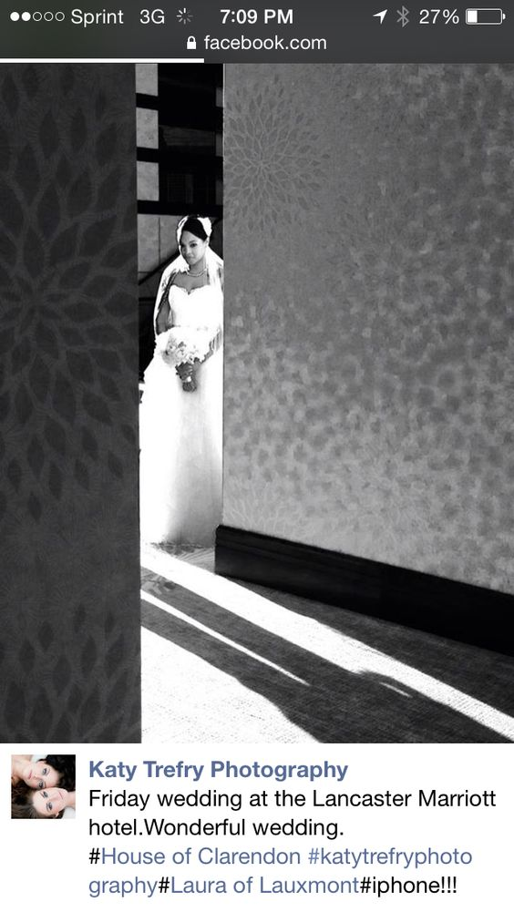Just a bride waiting for my groom :)