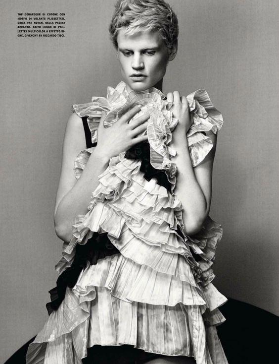 Saskia de Brauw by Craig McDean for Vogue Italia February 2014 15