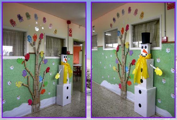 Decoraci n aulatic terra de ferrol inverno pinterest for Decoracion verano jardin infantil