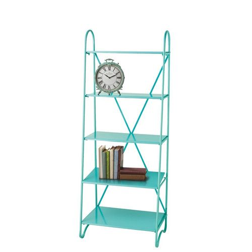 "Found it at AllModern - Airydale 5 Shelf 68"" Etagere Bookcase"