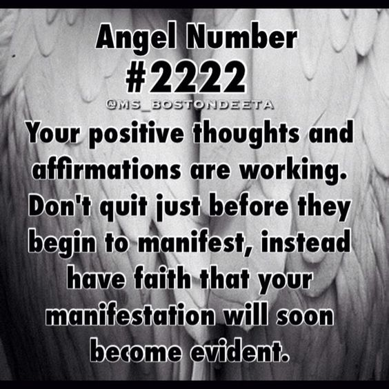 Numerology: Angel Number 2222 Meaning | #numerology #angelnumbers
