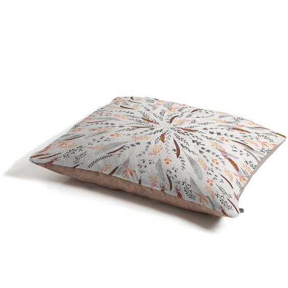 Iveta Abolina Feather Roll Pet Bed | DENY Designs Home Accessories