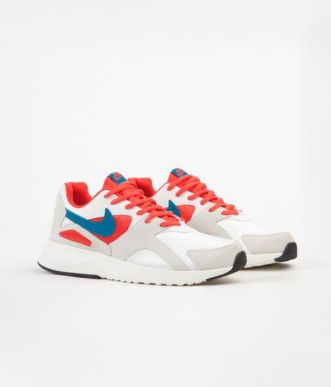 Original Gracias por tu ayuda irregular  Nike Pantheos Shoes - Summit White / Green Abyss - Habanero Red ...