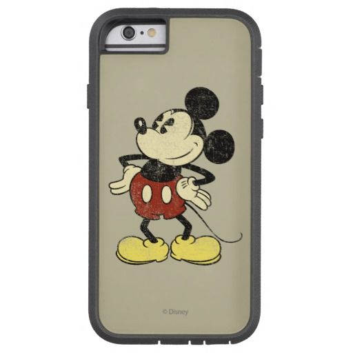 Vintage Mickey Mouse 2 Barely There iPhone 6 Case