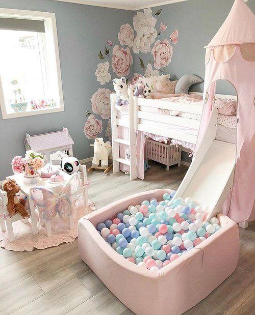 Lovely Lavender Fairytale Girl S Bedroom Decor For Kids Toddler Girl Room Baby Room Decor Girl Bedroom Designs Little girls room ideas furniture