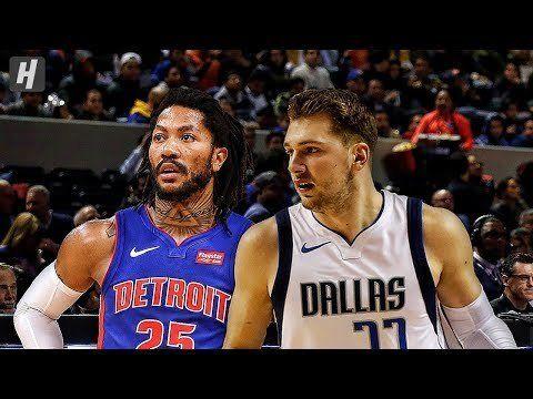 Dallas Mavericks Vs Detroit Pistons Full Game Highlights December 12 2019 2019 20 Nba Season Dallas Mavericks Detroit Pistons Pistons Basketball