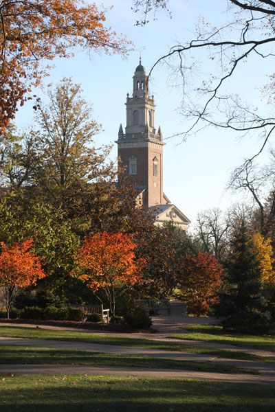 Denison University..My Alma Mater. My kids tell me they want to go there...bucketed to make it happen for them.
