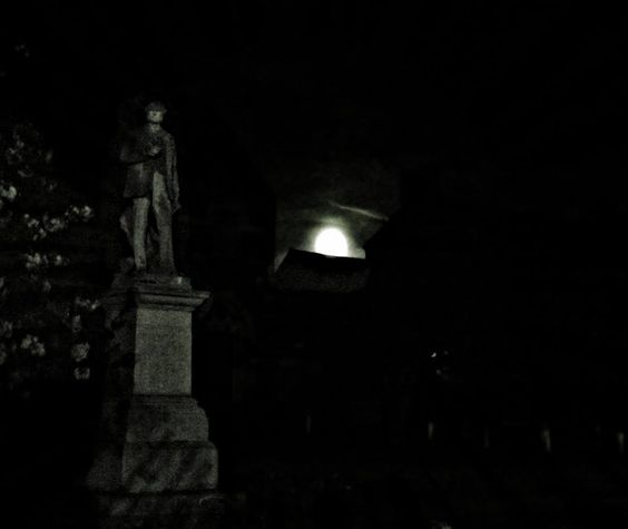 #Photography #Rugby #Town #Moon #Sculpture #Darkness #RupertBrooke