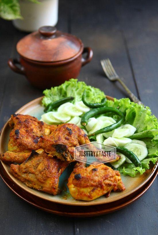 Resep Ayam Panggang A La Padang Resep Ayam Panggang Ayam Panggang Resep Ayam