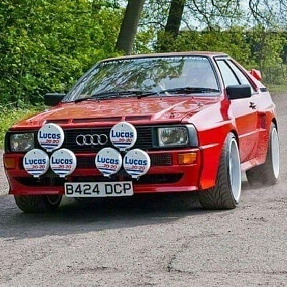 Audi Ur Quattro Road Car 1980 1991 The Audi Quattro Made