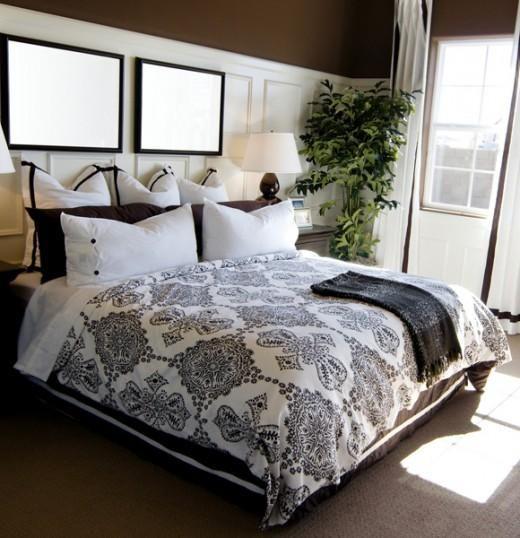 Perfect Bedrooms purple color in bedroom