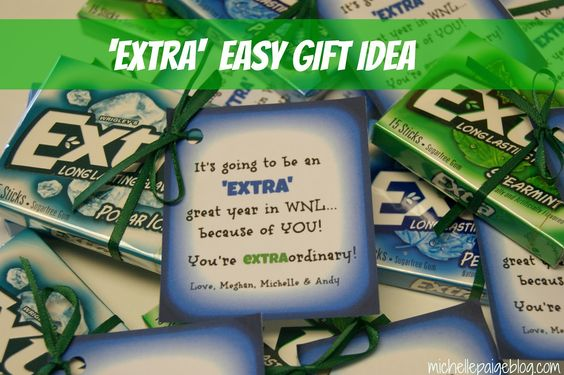 michelle paige: 'Extra' Encouraging Gift
