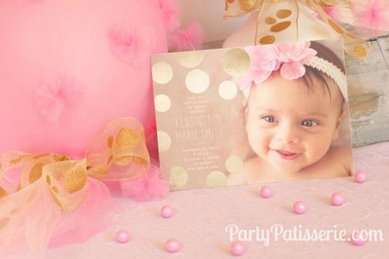 Welcome Home Baby Party - a cute way to introduce your baby to friends and family.