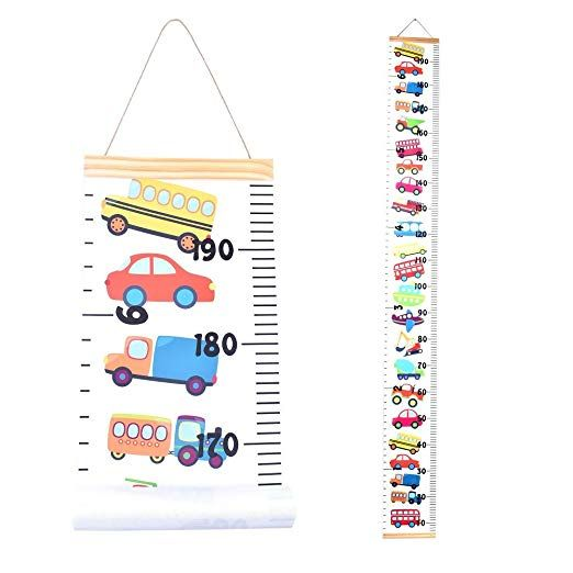 Growth Chart for Kids,Height Chart,Wall Ruler Removable Height Measure Chart Hanging Ruler for Toddler Height Wall Chart for Boy Girl Room Decor Wall Decor Unicorn