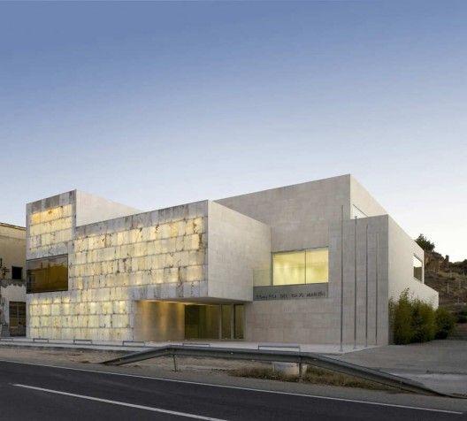 Architects: Magén Arquitectos - Jaime Magén Location: N-232. Híjar (Teruel), Spain Developer: Bajo Martin County Seat Collaborators: Beatriz Olona,