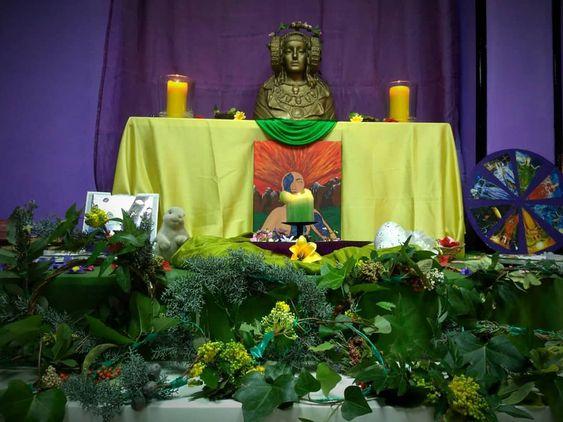 Altar de Ostara 2018