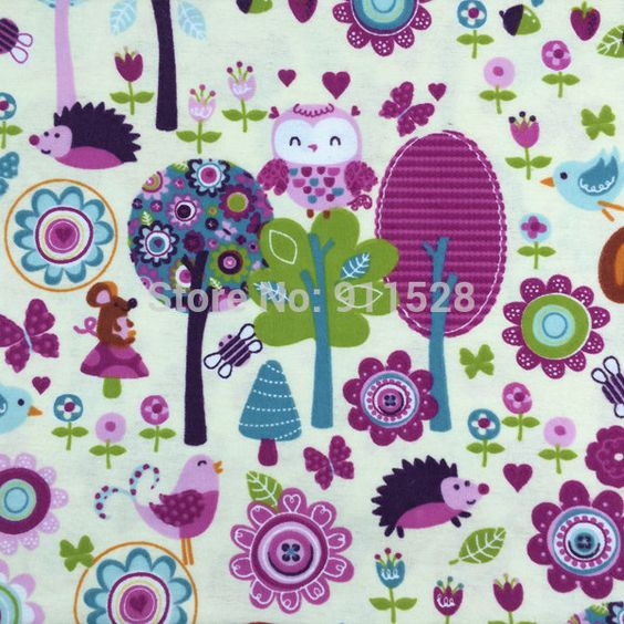 Barato Cute Owl Birds Printed 100% Cotton Flannel Fabric for Children Sleepwear Baby Blankets Garment, Brushed Cloth Cartoon Tissues, Compro Qualidade Tecido diretamente de fornecedores da China: vamos mudar de casa. Venda de afastamento para alguns produtoshttp://www.aliexpress.com/store/group/Clearance-Sale-July/