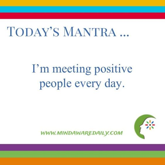 Today's #Mantra! Go to the URL on the graphic for mantra inspiration delivered by email.
