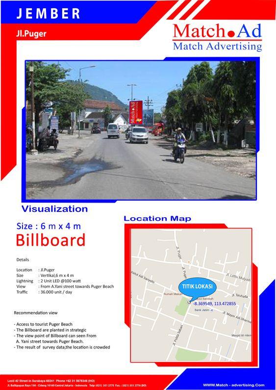 Jember, Jl. Puger - Baliho 6x4