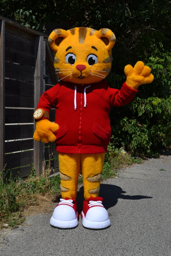 Birthdays Daniel O Connell And Daniel Tiger Costume On