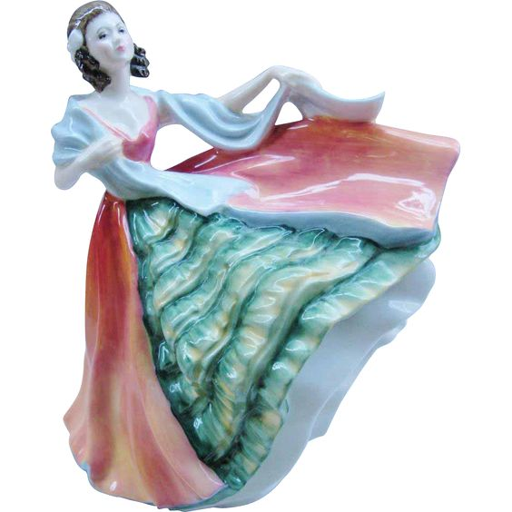 Royal Doulton Ann HN 3259 England Retired Figurine