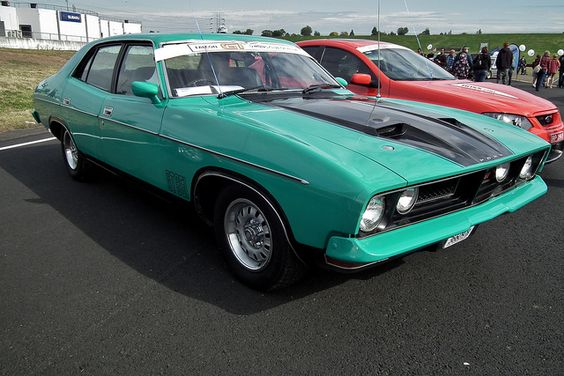 Falcon XB GT in New England Green