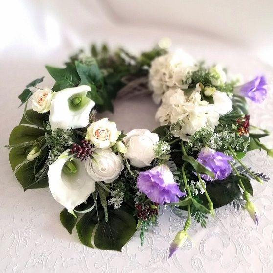 Wianek Na Cmentarz Spokojny Sen Nr 142 Floral Floral Wreath Wreaths