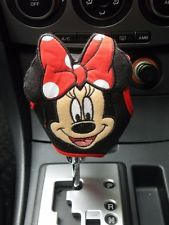 Disney Minnie Mouse Car Accessories Automatic Shift Knob Gear Stick Boot Cover